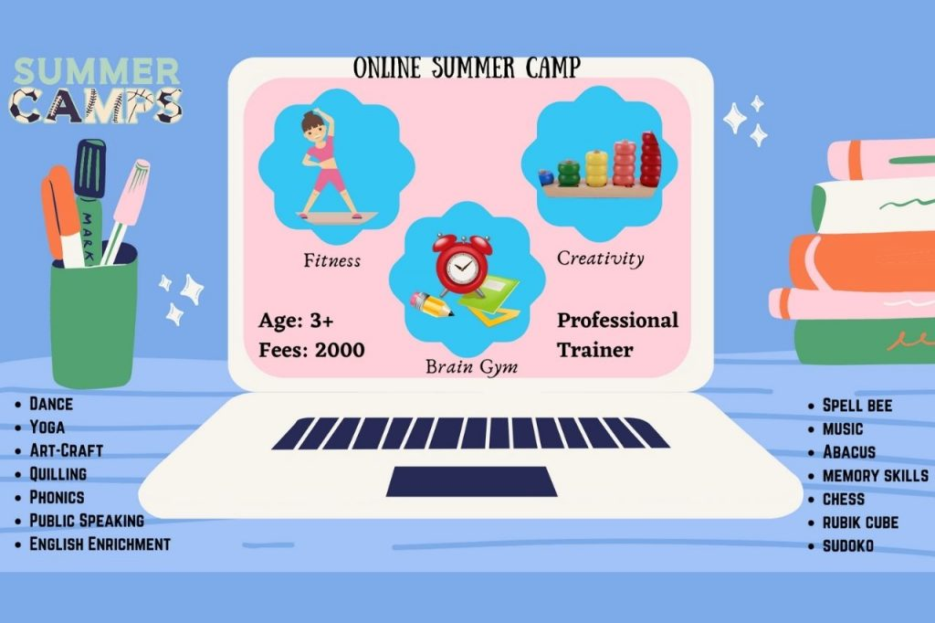 Online Summer Camp in Ramamurthy Nagar Bangalore